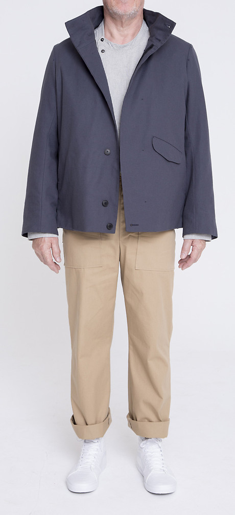 Formal Blouson über Gatsby with Yoke, Front