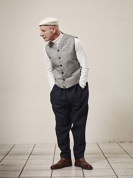 Vest, Turtle Neck, New Wide Pant