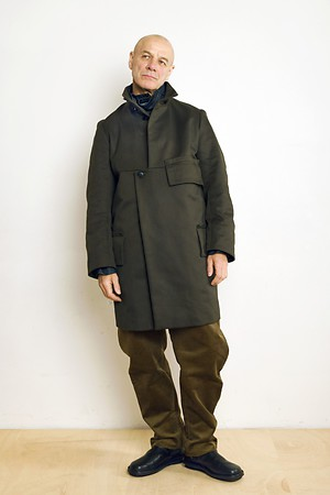 Flap Coat Turtle Bomber Sickel-leg Pant
