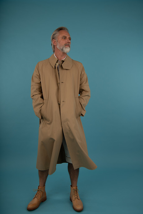 Elongated Trench Shirt Ullrich vertically Gatsby Shorts