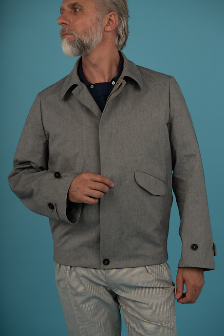 New Formal Blouson Balcony Shirt PSPAL