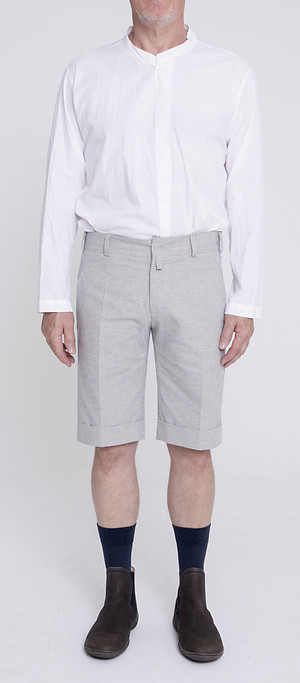 Formal Tee, Gatsby Narrow Hem Shorts