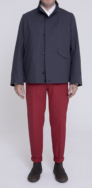 Formal Blouson über Flat Pants 50's