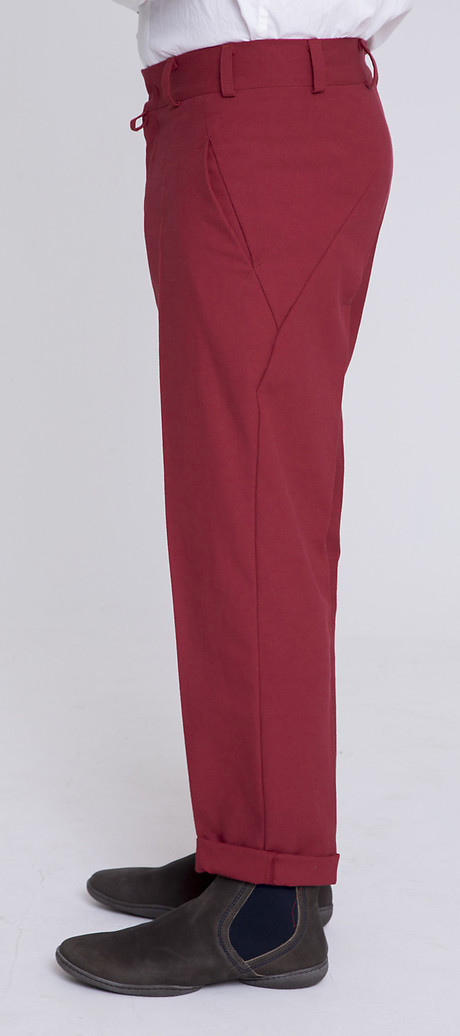 Flat Pants 50's, Seite